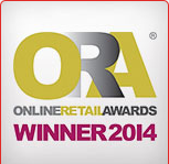ONLINE RETAIL AWARDS 2014 WINNER