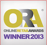ONLINE RETAIL AWARDS 2013 WINNER