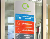 Recycling bins from the Workplace Depot