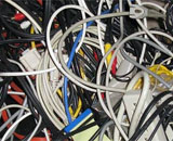 How cable protectors and covers can reduce office mess