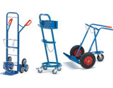 Steel bottle trolleys