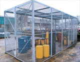 Mesh wire security cages