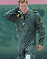 RAF Uniform - Prince Harry