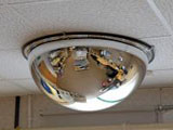 Dome security mirrors