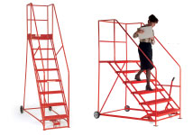 mobile safety step and access platform
